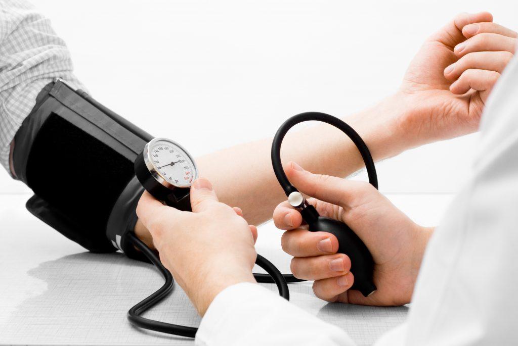 blood pressure age chart